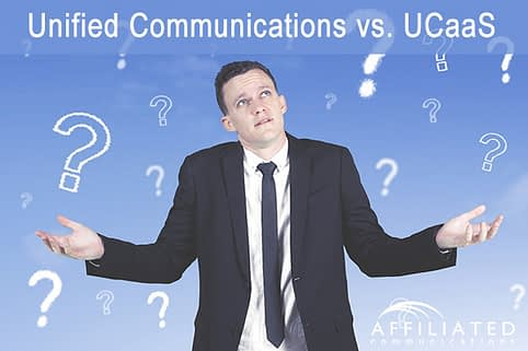 Unified communications can be on-premise or cloud-based.